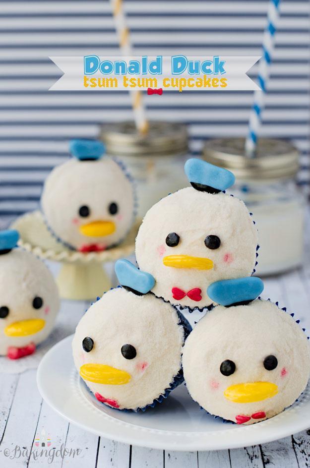 Birthday, cupcakes, & Donald-all good things, all good things. Donald Duck Tsum Tsum Cupcakes- http://t.co/6qgYoOpRBq http://t.co/lLyuqNAugl