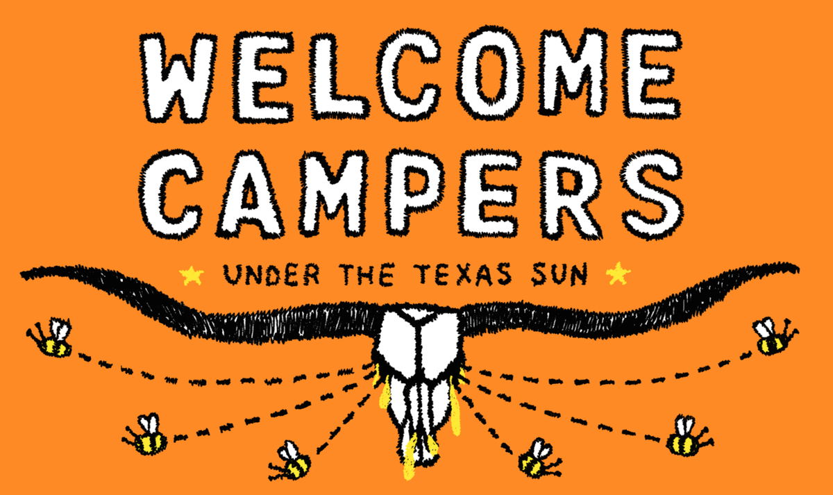 The Wild Honey Pie (@thewildhoneypie): We're bringing #WelcomeCampers3 to Texas during #SXSW Interactive! More details: http://t.co/X2Lci3jgAD http://t.co/hXHWMDsM7f