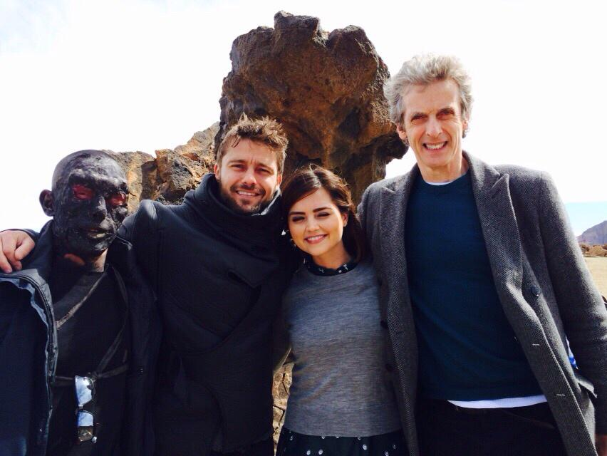 Very jealous that @BenFreeman20 was filming right next to Doctor Who yesterday!! Wahhhhhh!!!! http://t.co/0MbLKYVcTD