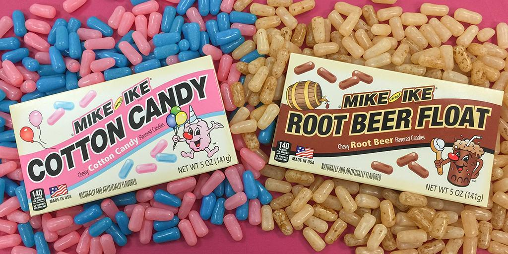 #MikeandIke Root Beer Float and Cotton Candy gives you all the carnival tastes you love, without the scary #clowns! http://t.co/rNzRTqGzMb