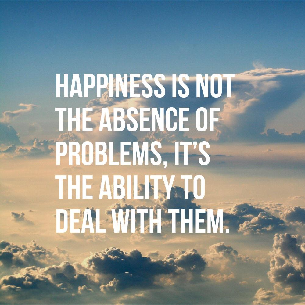 Happiness comes when you accept life's ups/downs, change what u can & forget what u can't. Be lead by peace. http://t.co/smftSGwmP7