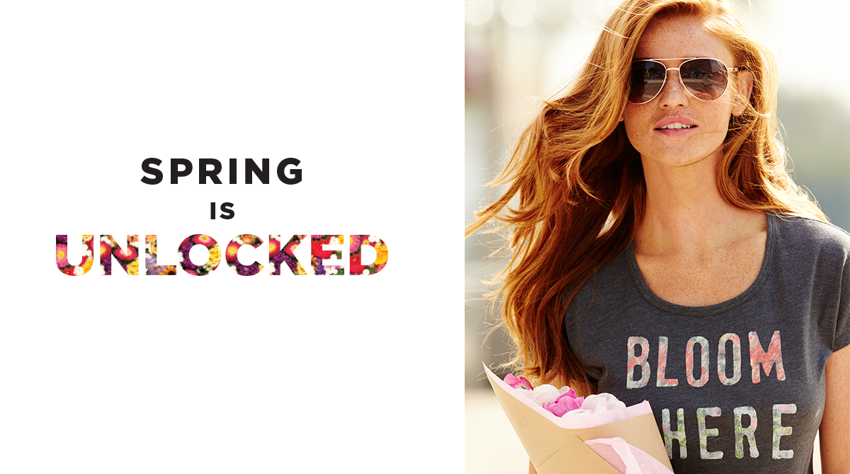 Congrats! You helped #UnlockSpring. RT to enter to win a $100 gift card. Rules: http://t.co/3JPnH4SLZ9 #KohlsSweeps http://t.co/4TiARUYuT6