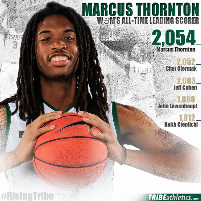 Go Tribe! MT @TribeAthletics: RECORD BREAKER #MT2K - Marcus Thornton tops the oldest NCAA Division I scoring record! http://t.co/eHFD01EXVM