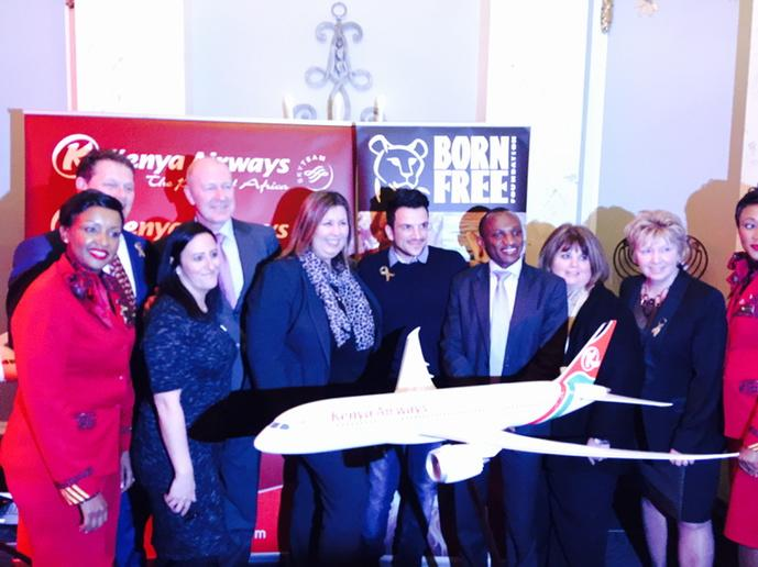 Great night with @MrPeterAndre Kenya airways and @Bornfree http://t.co/Hkch3f6A0T