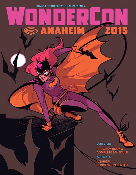 Introducing the #WonderCon Anaheim 2015 Program Book cover art by special guest @babsdraws! http://t.co/2gKsPssiQW http://t.co/X8S7U9oZHZ
