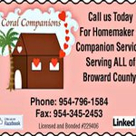 Need Homemaker and Companion Services in Tamarac Margate or Coral Springs? http://t.co/Fginjn6tcN @YousefiDiane http://t.co/Tt3Z0vTkrr