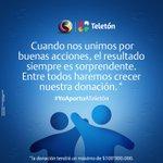 Por cada RT a este tweet donaremos a @TeletonColombia $3000. #MirateColombia Unidos logramos más #YoAportoATeleton http://t.co/46CJwEWvEX