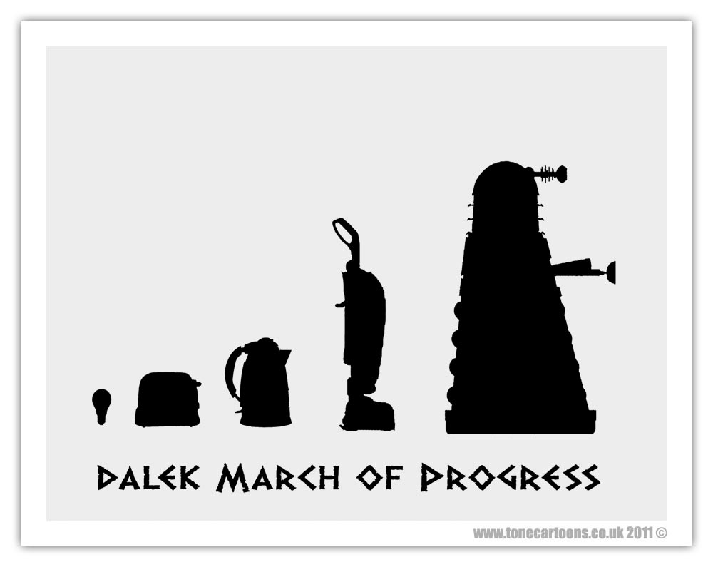 The Evolution of Dalek http://t.co/GPunvcscsM