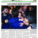 A historic evening for @UF_SG . Heres our front page. Pick up a copy tomorrow! #ufelections http://t.co/vdpfjnwb8h