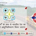 """""""कायाकल्प""""- भारतीय रेल का तकनीकी आधुनिकीकरण: श्री @sureshpprabhu  #RailBudget2015 #रेलबजट http://t.co/RLD2riQfNl"""