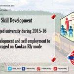 Initiatives for Skill Development- @sureshpprabhu  #RailBudget2015 #रेलबजट http://t.co/buNlBPUEQK