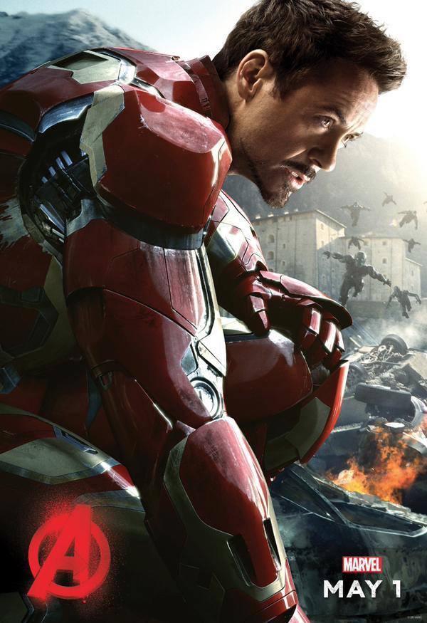 Новый постер фильма «Мстители: Эра Альтрона». Роберт Дауни-младший обещает некий крупный анонс через 8 дней http://t.co/TElQI9imSz