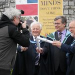 Rain held off for #Conferrings @UCC Our Media friends getting us some great coverage @georgeboole200 gets in a pic 2! http://t.co/uEgcwid0QF