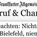 Auf den Punkt @faznet. Nichts schlechtes über @arminia #Bielefeld http://t.co/jkf9sLpnas