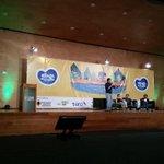 Acompañamos a nuestro alcalde @anibalgaviria en la instalación del #FMB4, Medellín una ciudad para las bicicletas http://t.co/SI3Kvzy53d