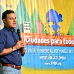 Acompañamos a nuestro alcalde @AnibalGaviria en inauguración del #FMB4 Una bici más http://t.co/wcx7i7CgxD