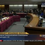 .@FCC meeting on #OpenInternet #NetNeutrality – LIVE on C-SPAN3 @cspanradio & online here: http://t.co/9Apl86oREl http://t.co/14F7iKbUgh