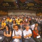 Con el auditorio completamente lleno este sueños echó a rodar. @WorldBikeForum #FMB4 el más grande en la historia! http://t.co/pqHsVjxPqT