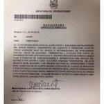 Este documento militar confirma la alianza criminal de las FARC y el ELN.  Y JuanPa calla. http://t.co/83Tmv8wuvQ