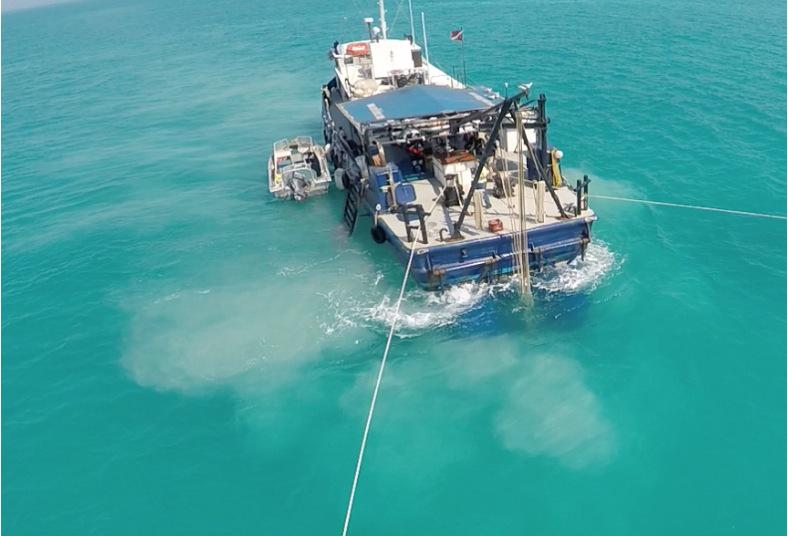 Hunting treasure on the Magruder off Fl Keys with Fisher dive team. Our piece soon on CCTV. http://t.co/eBMEimclTh