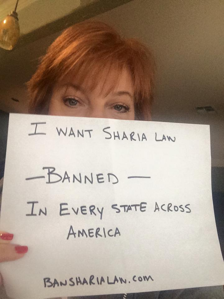 Join us by signing petition at http://t.co/fEwi3rk1AL & posting pic like this with hashtag #bansharialaw http://t.co/0FVXIMay7S