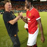More quotes from Tyler and Louis van Gaal: http://t.co/1iWaS4Zhvu #mufc http://t.co/FrTitkEQHU