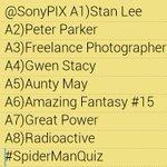 @SonyPIX #SpiderManQuiz http://t.co/mR2x2g4ESd 25
