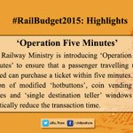 Some Highlights of the #RailwayBudget2015 important for peoples perspective: 2/6 http://t.co/FkCTF8nXIu