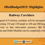 Some Highlights of the #RailwayBudget2015 important for peoples perspective:3/6 http://t.co/rpEHgbH4tp