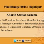 Some Highlights of the #RailwayBudget2015 important for peoples perspective:6/6 http://t.co/IiRfalvwJX