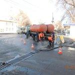 Пролив горячей водой дождеприемных колодцев на ул.Промышленности, 289. @Rudakov_i_a @DepBlagSamara http://t.co/sUnu7AaIMj