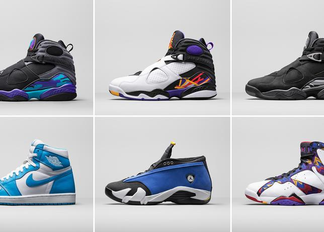 Preview of coming attractions: Jordan Brand Holiday '15 Retro Lineup http://t.co/SLK7qojEh1