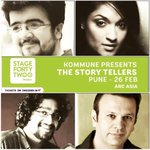 Pune peeps. Storytellers is on tonight. It's a lovely show and there are walk in tickets available. Go go go!