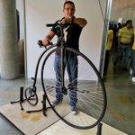 Ya vivimos el #FMB4. Ven a @plazamayormed y conoce variedad y estilos de vida a partir de la bici. http://t.co/vEDDTUnPLT