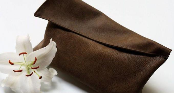 Как сделать клачик своими руками из кожи