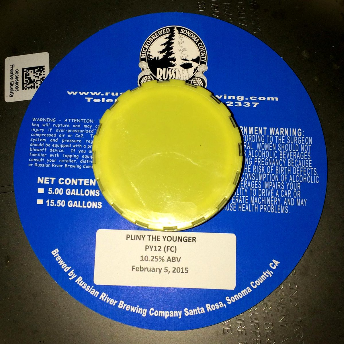 #PlinyTheYounger is tonight! Doors open at 6pm and #PTY pours at 8pm! Lots of other #RussianRiver beers on draft too! http://t.co/dxwKe9w4kp