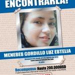 #AyudanosAEncontrarlo, Luz Estelia Meneses Gordillo se extravió en #Quito. Recompensa 200.000 dólares. http://t.co/Ib9pOVZqgX