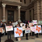 Reproductive health rally on the south steps: Trust. Respect. Access. #TrustTX #txlege http://t.co/RKFymeMplH