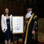 Had a lovely day receiving the Freeman of Exeter. Thank you @ExeterCouncil @LordMayorExeter http://t.co/wfpyTQwdAI