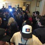 Ted Cruz mobbed at CPAC http://t.co/a98L7bGjaE