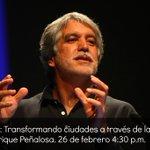 A las 4:30 p.m. charla con @EnriquePenalosa en el Gran Salón de @plazamayormed. @Telemedellin transmitirá #EnVivo http://t.co/oKzg4hnqKN