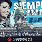 @TVRok El domingo, todos con @CFKArgentina ! Veni con @PeronismoPM http://t.co/vxzrB573rn