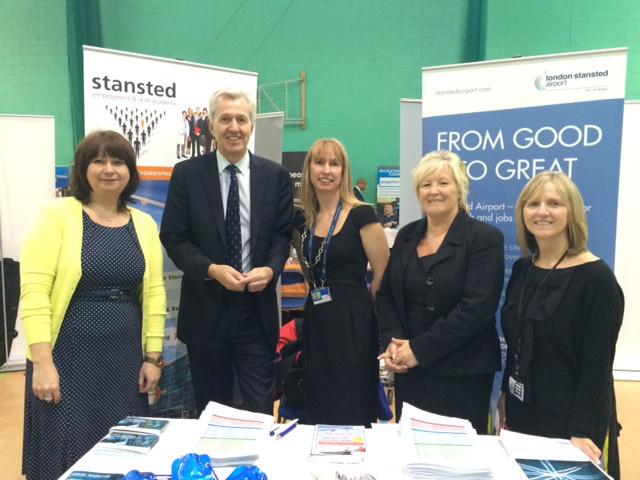 A successful day at Enfield Jobs Fair today w/@nickdebois. 100s airport jobs still avaliable