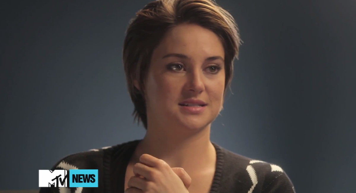 Insurgent EXCLUSIVE: @shailenewoodley tells us what separates Tris from any other @Divergent: