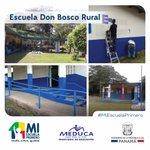 Esta es la nueva cara de la Escuela Don Bosco Rural. #MiEscuelaPrimero http://t.co/EnDxcqmSEa