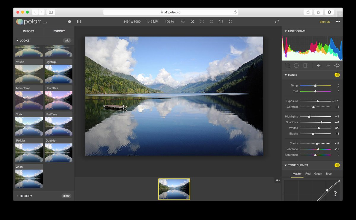 Polarr v2 is an advanced photo editor built using WebGL and @reactjs: https://t.co/IrK2jTQOq0 http://t.co/IRbiUAvSmZ