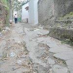 Anarquía y hampa mandan en el callejón Bernotti. @MetroLTe prometió arreglar la vía, pero no ha cumplido #26F http://t.co/0r3NE0p8G2