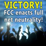 BREAKING: The FCC just approved the strongest #NetNeutrality rules ever! http://t.co/NRS1mKTBuO #WonTheInternet http://t.co/kyyTmVRXEP