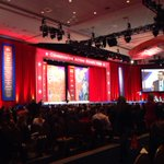 Main stage at #cpac2015. Crowd coming in for Gov. Christie, up next. http://t.co/sqO5NtGtNV