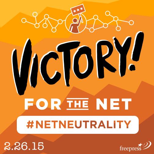 Thanks @TomWheelerFCC @MClyburnFCC @Jrosenworcel for voting YES on #TitleII http://t.co/BU7gy7jQPt #NetNeutrality http://t.co/1hmATyBJyT